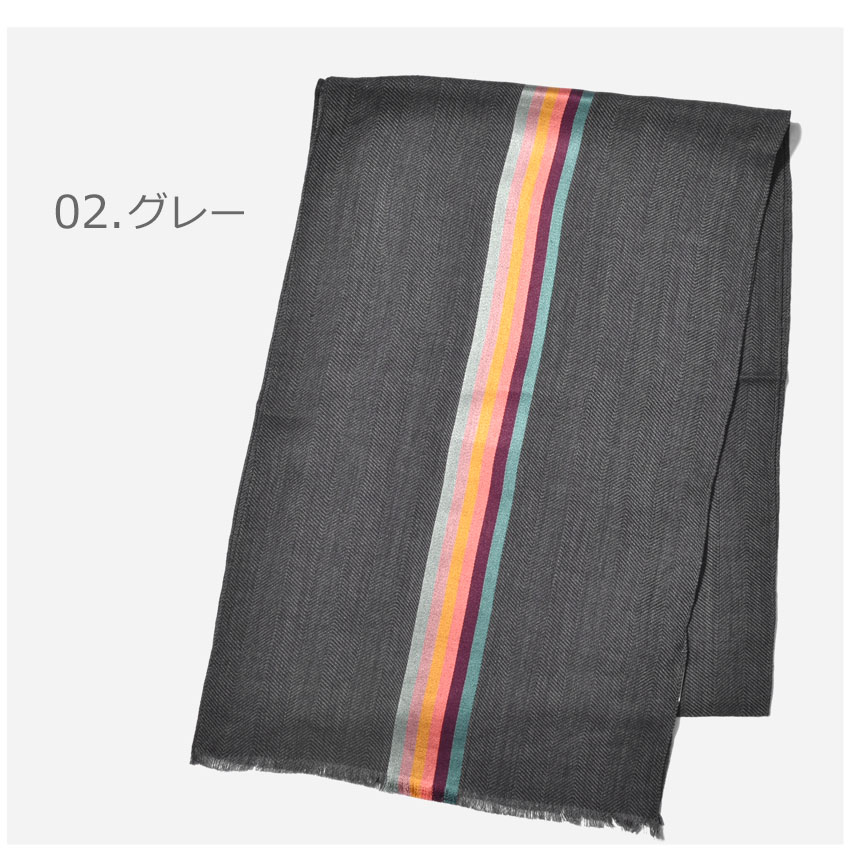 PAUL SMITH (ポールスミス) SCARF CENTRAL STRP